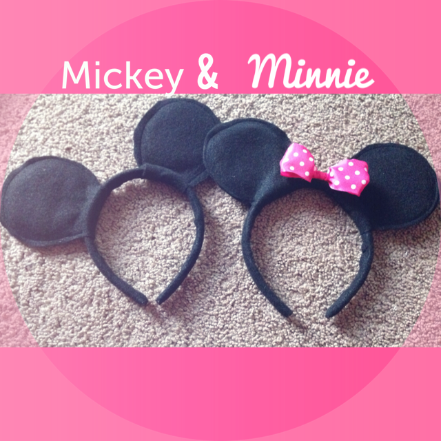 Minnie and Mickey Mouse Ears DIY (1/6)