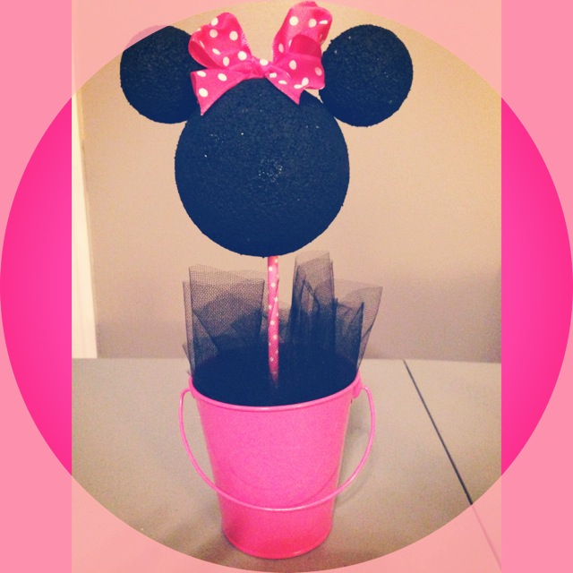 Minnie Mouse Centerpieces (1/6)
