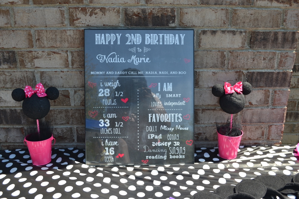 Minnie Mouse 2nd Birthday Party: DIY Recap (3/6)